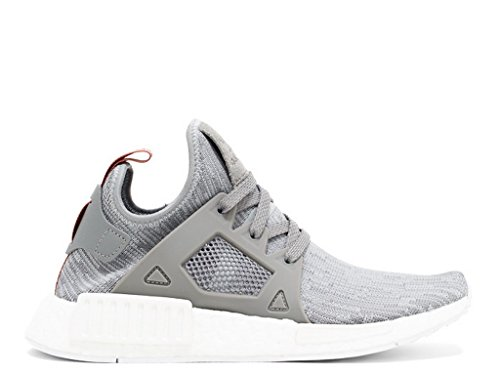 Adidas Womens NMD XR1 Prime Knit (5.5, Clear Onix/ Pink)