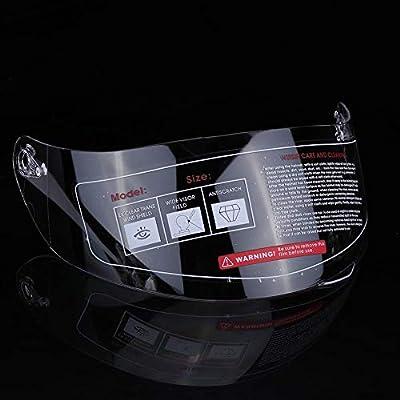 KIMISS KI6983 Casco moto visiera parabrezza obiettivo di ricambio per 316 902 AGV K5 K3SV Clear