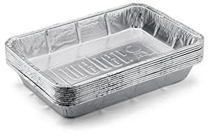 Amazon Com Weber 6416 Large Aluminum Drip Pans 10 Pack