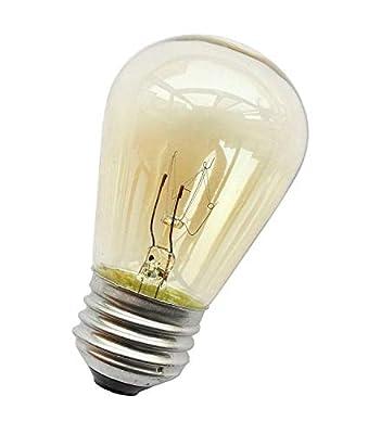 Feit Electric 11-Watt String Light S14 Incandescent Light Bulb (4-Pack)
