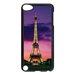 Custom Eiffel Tower Back Cover Case for ipod Touch 5 JNIPOD5-498
