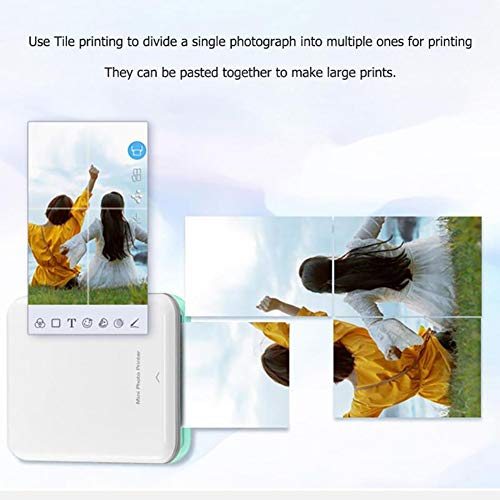 SFXYJ Portable Thermal Bluetooth Printer Mini Wireless POS Picture Photo Printing,A by SFXYJ (Image #6)