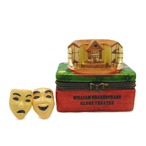 (William Shakespeare London Globe Theatre Jewelry Box)