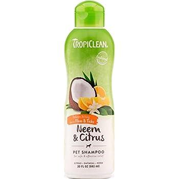TropiClean Neem and Citrus Pet Shampoo, 20oz