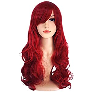 AnotherMe Ultra Soft Long Big Wig Women Heat Resistant Fiber Party Cosplay Wig 9 Colors
