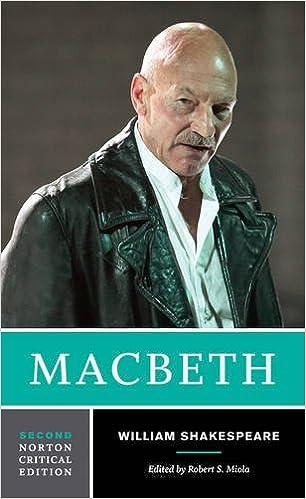 Amazon. Com: macbeth (norton critical editions) (9780393977868.