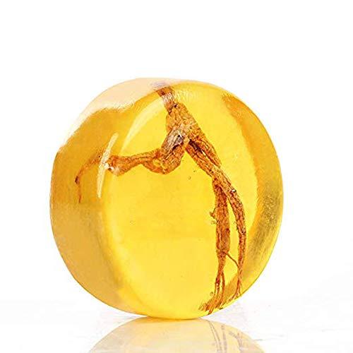 Ginseng Revitalizing Soap Bar Psoriasis & Eczema Anti-Fungus Skin care Whitening Soap(100g)