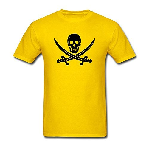 Kettyny Men's Kid's Ween Pirate Design Cotton T Shirt