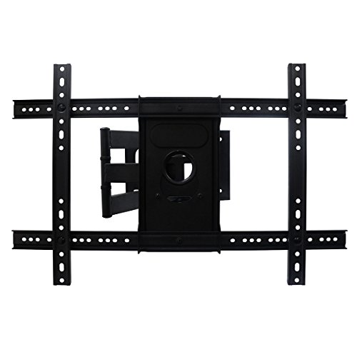 """AuraBeam TV Wall Mount Bracket for Most 37""""- 70"""" TVs LED/LCD/Flat Screen Monitor (Up to 99 lbs. / VESA 600400mm / +20 Tilt / 75-460mm Distance to Wall) from Aurabeam"""