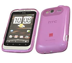 Bloutina iTALKonline ProGel PURPLE Super Hydro Gel Protective Armour/Case/Skin/Cov... for HTC WildFire S WildFireS...