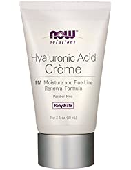 Now Foods - Hyaluronic Acid Night Wrinkle Remedy 2 Ounces