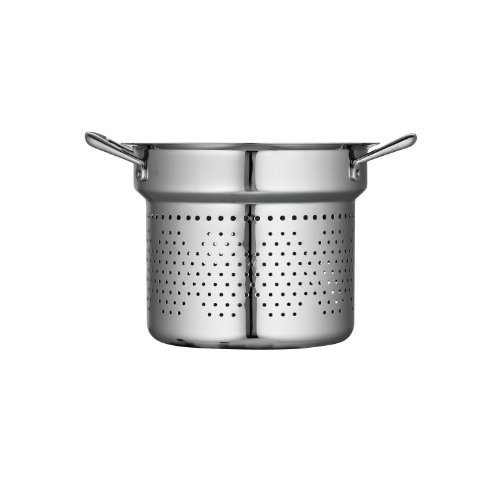 Tramontina 80101/015DS Gourmet Prima Stainless Steel Pasta Insert, 8 Quart, Made in Brazil by Tramontina (Image #1)