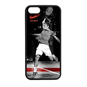 iPhone 5 Case, [Roger Federer] iPhone 5,5s Case Custom Durable Case Cover for iPhone5 TPU case(Laser Technology)