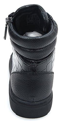 Alta a Collo NERO BLACK Donna Alto Sneaker Armani fwqdCHxf