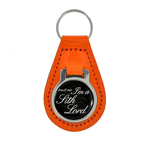 Accessories Boxed Sith (Trust Me I'm A Sith Lord Design Keyring Gift Boxed - ORANGE LEATHER)