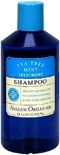product image for Avalon Organics Shampoo, Tea Tree Mint Treatment, 14-Ounces (Pack of 3)