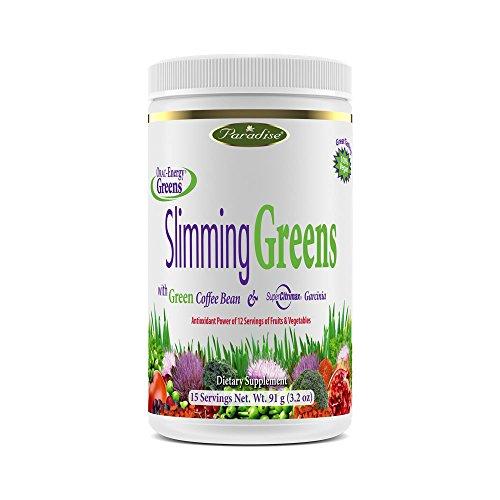 Paradise Herbs Orac Energy, Slimming Greens, 6.4 Ounce