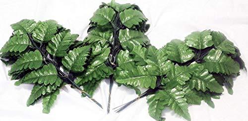Silk Leather Leaf - Tremont 84 Stems Silk Leather Leaf Fern