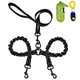 Best Dog Leash For Pullings - Dual Dog Leash, Double Dog Leash,360° Swivel No Review
