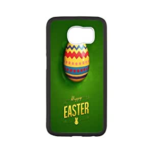 Samsung Galaxy S6 Cases Happy Easter, Samsung Galaxy S6 Cases Happy for Boys, [White]