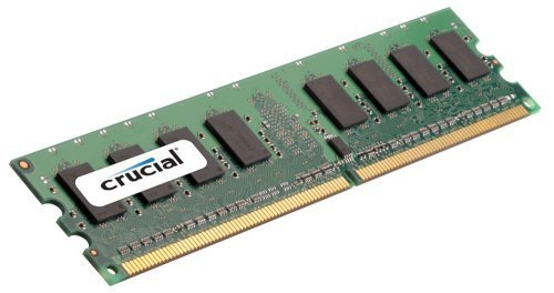Crucial 8GB Single DDR2 667MHz (PC2-5300) CL5 Registered RDIMM 240-Pin Server Memory CT102472AB667 by Crucial