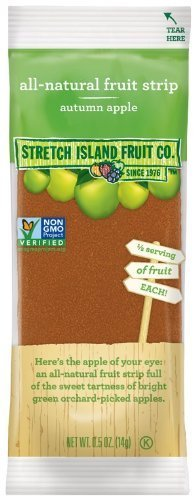 Stretch Island - Original Fruit Leather - Autumn Apple, 30 Units / 0.5 oz by Stretch Island