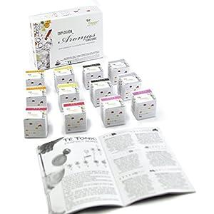 Confezione di Aromi spezie per fruizone di Gin Tonic - Home Kit in Confezione Regalo per Lui o lei con 24 infusioni di aromi e spezie Té Tonic per Cocktail a Base di Gin & Tonic. 1 spesavip