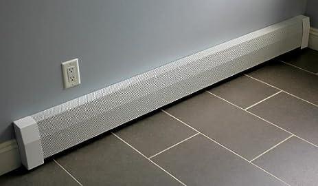 baseboard heater cover straight kit 3ft length