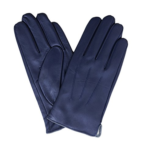 ariston-mens-blue-gray-trim-lambskin-leather-driving-gloves-with-cashmere-lining