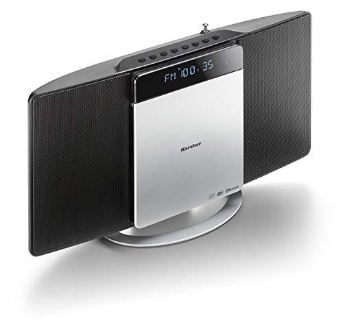 Karcher MC 6580D Compact systeem (met cd-speler, verticale stereo-installatie, bluetooth en wekker, FM en DAB+ radio…