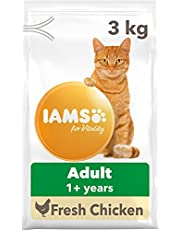 IAMS for Vitality Kattenvoer droog, droogvoer voor junior / volwassen / senior katten, verschillende smaken