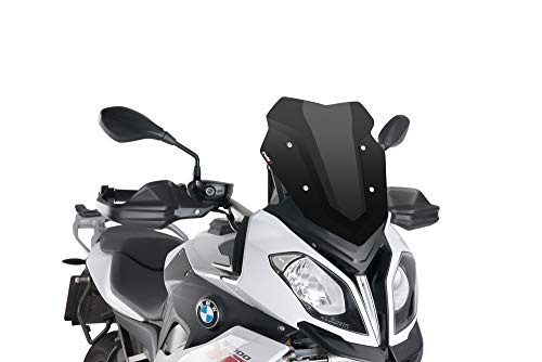 15-18 BMW S1000XR: Puig Racing Windscreen (3mm) (Black)