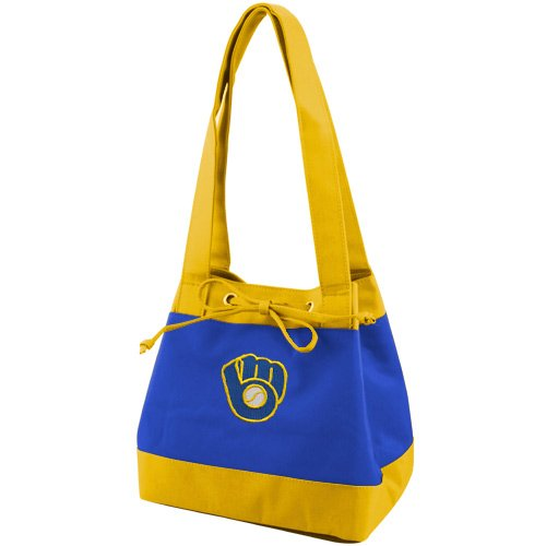 MLB Milwaukee Brewers Fashion Lunch Bag with Embroidered - Fashion Brewers Milwaukee
