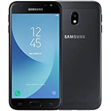 Samsung Galaxy J3 (2017) Dual-SIM 16GB SM-J330F/DS Factory Unlocked 4G Smartphone - International Version (Black)
