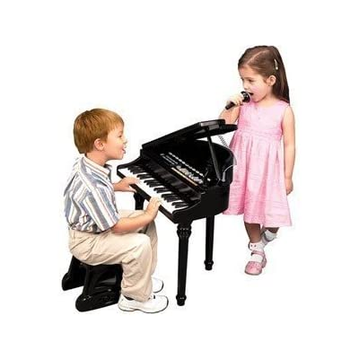 Little Virtuoso Symphonic Grand Piano with Microphone: Musical Instruments
