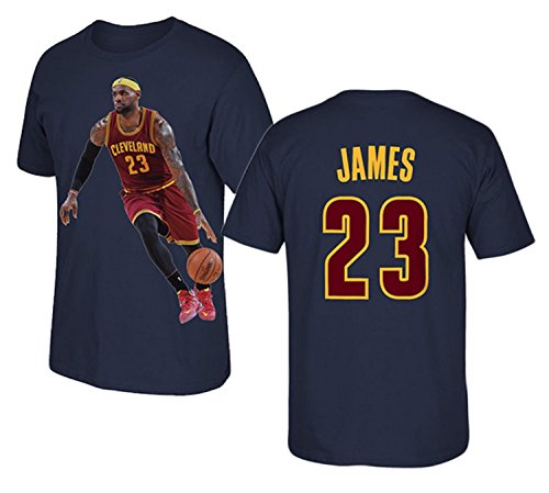 7c7af719d Lebron Jersey Style James T-shirt Kids Basketball James Navy T-shirt ...