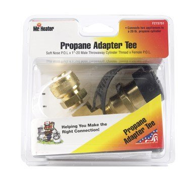 Mr Heater Adapter Tee Lpg - Lpg Supply