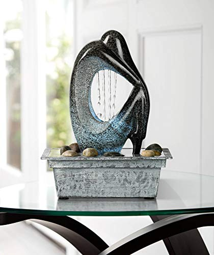 John Timberland Modern Tabletop Floor Water Fountain With