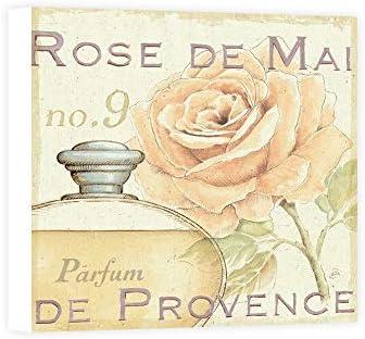 Impresión sobre Lienzo Wall Art Brissonnet Daphne Fleurs and Parfum I: Amazon.es: Hogar