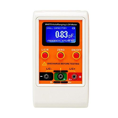 Q-baihe M4070/LCR pont testeur automatique Gamme Capacitance Inductance M/ètre avec mesure fr/équences jusqu/à 500/kHz