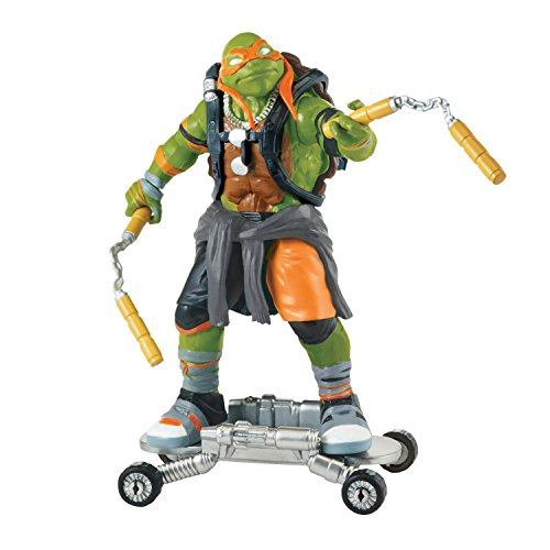 [Super Hero Ninja Turtles Movie 2 Michelangelo 5-inch Action Figures Toys] (Assassins Creed Costume For Kids At Party City)