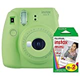Photo : Fujifilm Instax Mini 9 (Lime Green) with Instax Mini Film (20 Sheets)