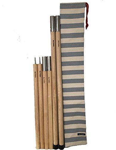 新鮮なピンさらにWood pole (ウッドポール) 2ポール+キャリングバッグセット