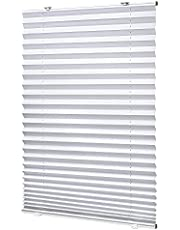 LazBlinds Tool-Free Cordless Pleated Shades with Suction Cups