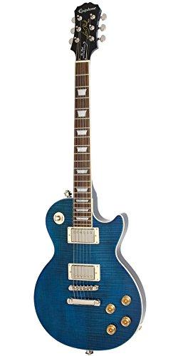 【アウトレット】Epiphone / Les Paul Tribute Plus Midnight Sapphire エピフォン   B07CQY1WRJ