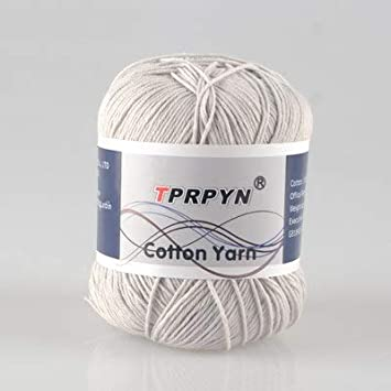 Cushy 10 ovillos de Hilo de Punto de algodón, TPRPYN, 500 g=1 ...