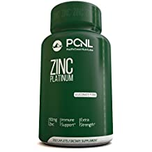 PacificCoast NutriLabs 50mg Zinc Gluconate (chelated) supplement, Best for Acne & Boost Immune Support, Easy to Swallow for Kids and Children, Free Ebook, 250 Tablets, With 100% Money Back Empty Bottle Guarantee