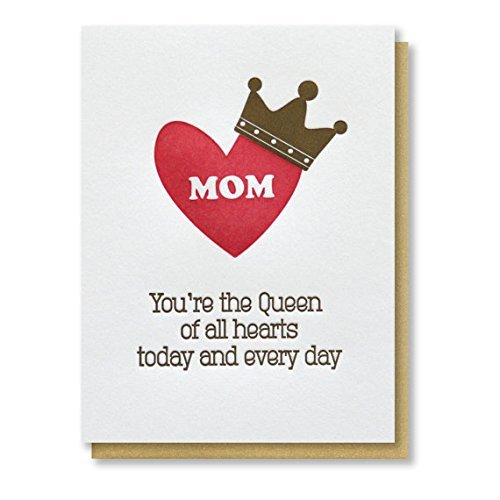 Amazon Queen Of Hearts Mom Birthday Thank You Mom