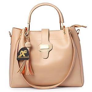 Speed X Fashion Women's Handbag (Set of 3) (FND-012 QC_Cream)