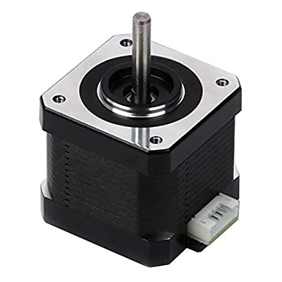 """FYSETC 3D Printer Motors, Nema 17 Stepper Motor 42-34 Motor 1.8 Stepper Angle 1.5A 2 Phase Body 4-Lead with 39.3"""" Cable for 3D Printer Extruder Reprap Makerbot CNC Creality CR-10 10S Ender 3 Printer"""